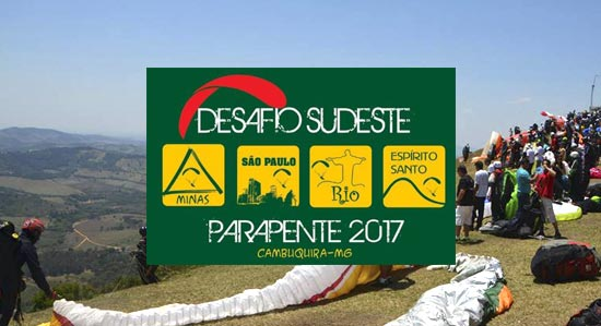 Final do Desafio Sudeste de Parapente 2017